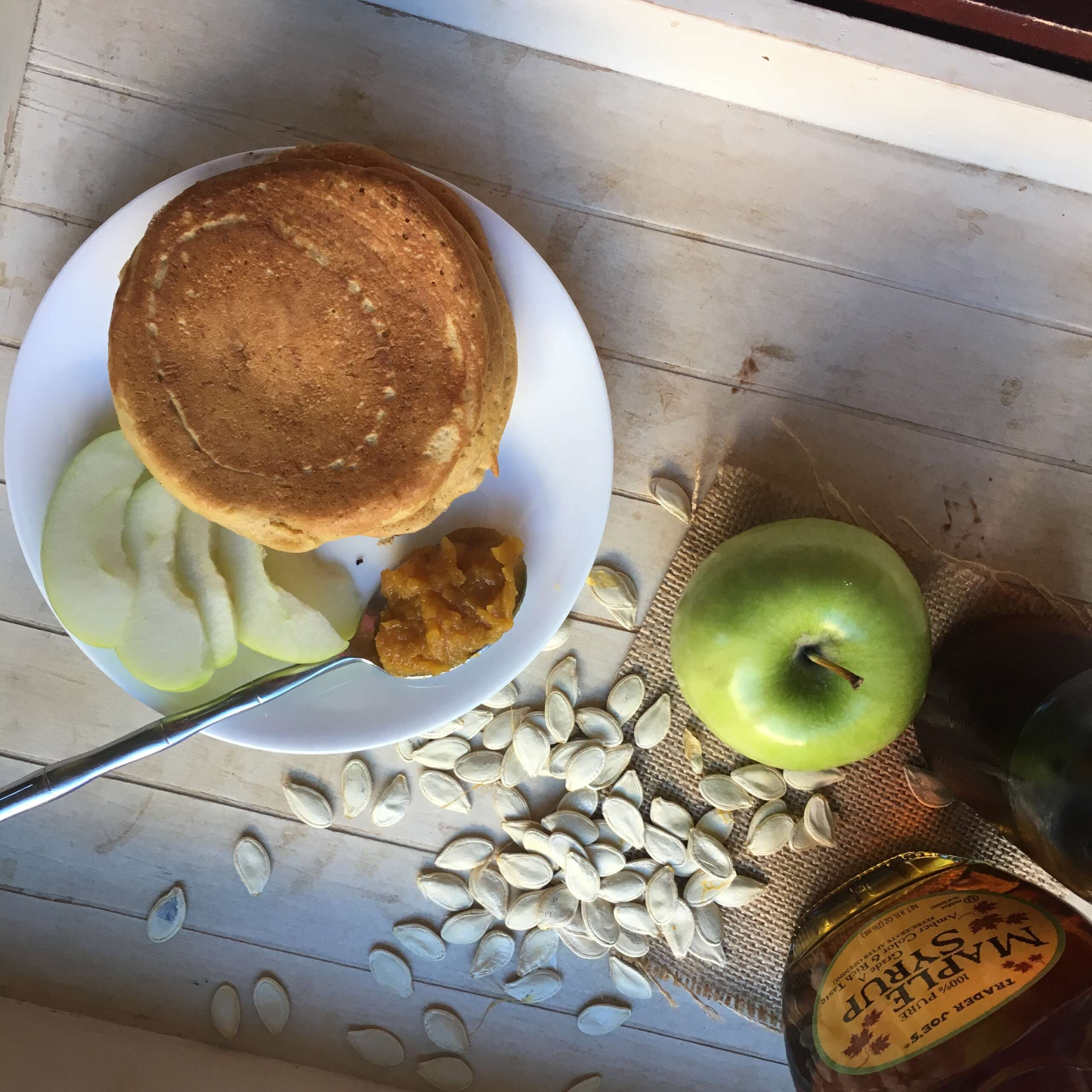 Mini Pumpkin Pancakes