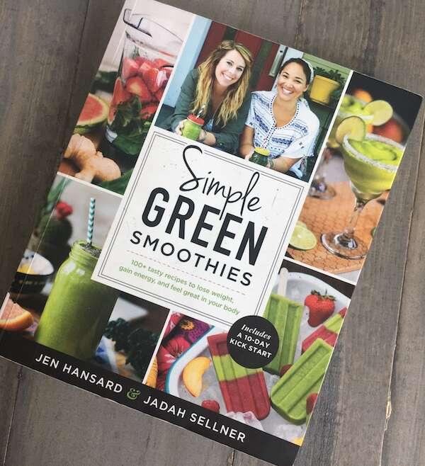 Simple Green Smoothies by Jen Hansard and Jadah Sellner~ Book Review