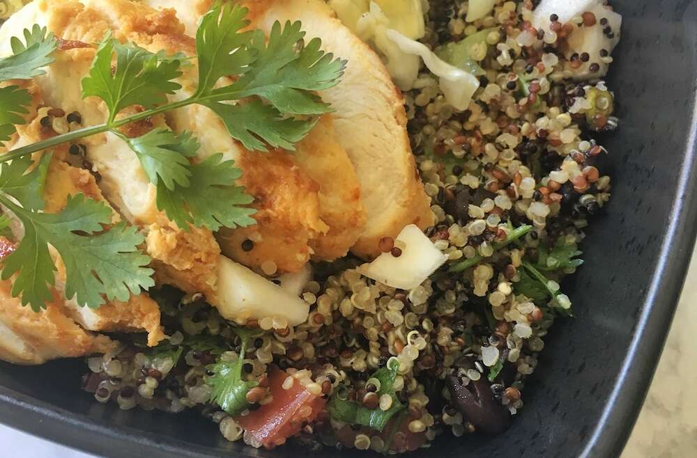 Black Bean Quinoa Bowl